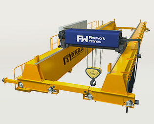 European double beam series bridge crane